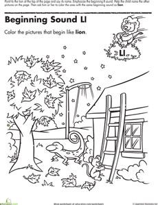 Ll Cool J Coloring Page by Beginning Sounds Coloring Sounds Like L Alphabet