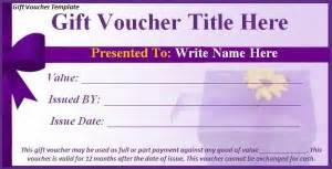 Make Your Own Vouchers Template by Gift Voucher Template Free Formats Excel Word