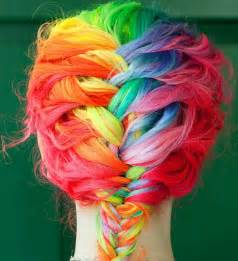 rainbow hair color pictures rainbow hair 11 hair colors you wish you had