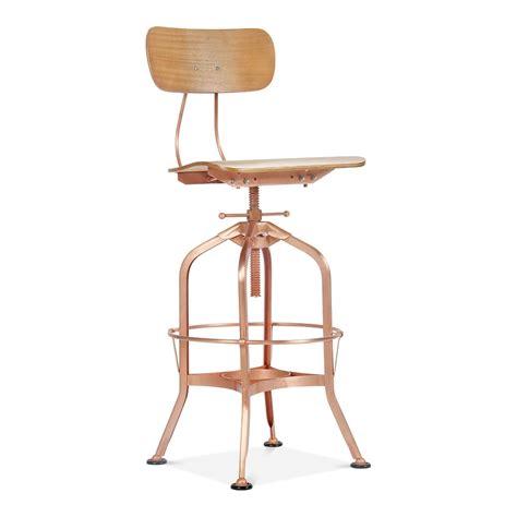 bar stools toledo toledo style swivel bar stool light copper 64 74cm cult