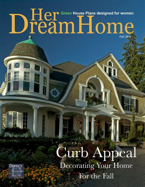 direct from the designers house plans new issue of her dream home magazine by direct from the