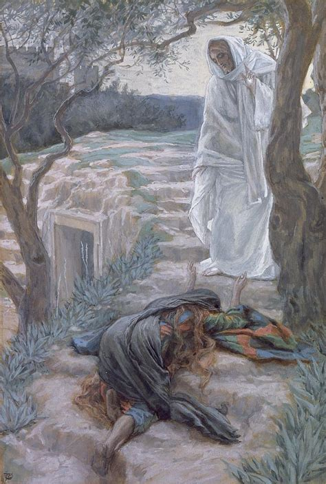 lade lupo noli me tangere painting by tissot