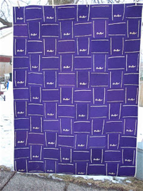 How To Make A Crown Royal Bag Quilt by Annsarts Crown Royal Bag Quilt