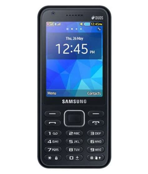 smasung mobile samsung sm b355e black feature phone at low