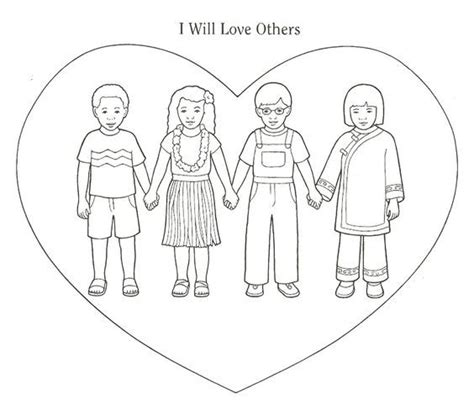 coloring page love your neighbor love your neighbor coloring page coloring home