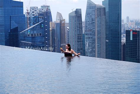 marina bay sands infinity pool entrance fee sands skypark singapore in pictures malaysia asia