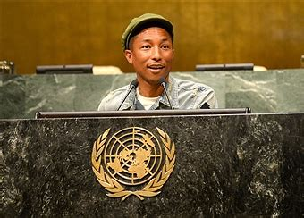 pharrell williams united nations pharrell williams performs at the united nations general