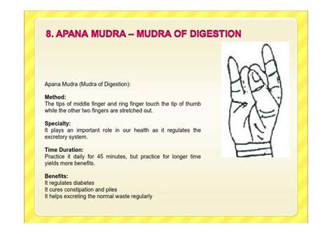 Detox Mudra Benefits by Apana Mudra For Digestion Spiritual Mudras