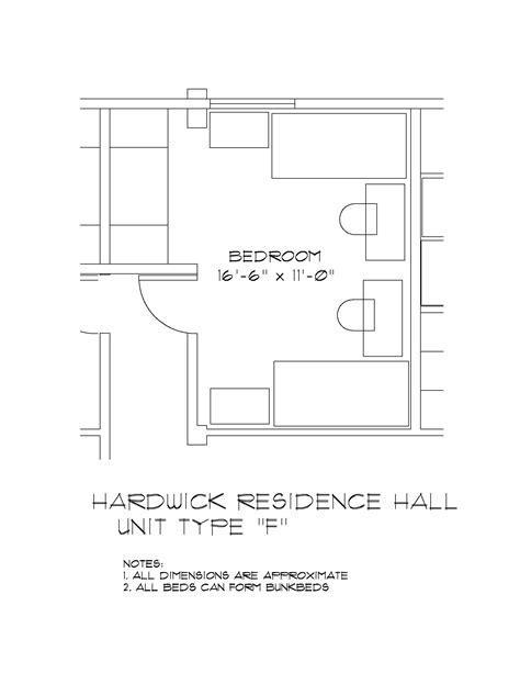 hardwick hall floor plan johnson and hardwick hall university housing and