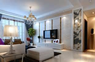 european style villas white living room interior design