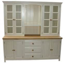 Kitchen Built In Cabinets freestanding kitchen dressers amp larder units oak kitchen