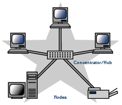 network layout star chapter 5 topology
