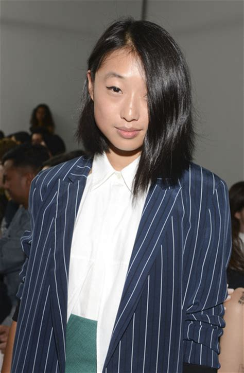 Margaret Zhang Pictures   Dion Lee   Front Row   Mercedes