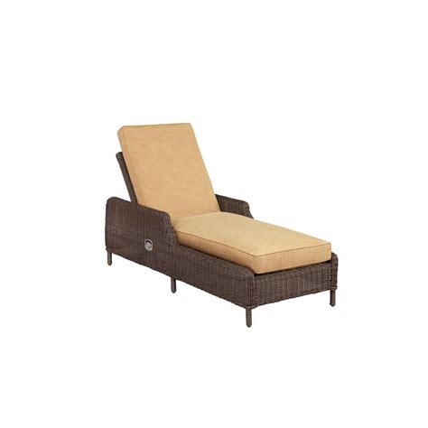 chaise lounges for patio hanover strathmere all weather wicker patio chaise lounge