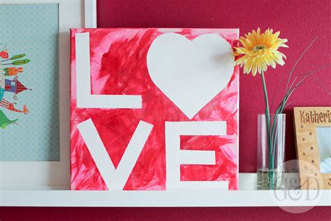 valentines painting s day kid s craft canvas all things g d