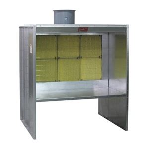 bench spray booth paasche 5 bench style spray booth fabsf 5 t3