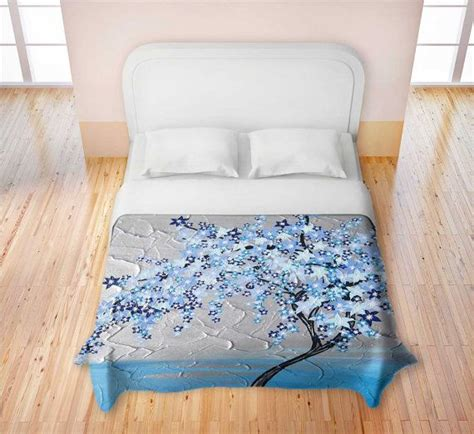 cherry blossom bedding blue cherry blossom duvet cover quilt covers for by