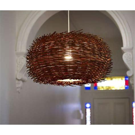 curtain wire bunnings rouge living 240v 40cm habitat nest pendant light i n