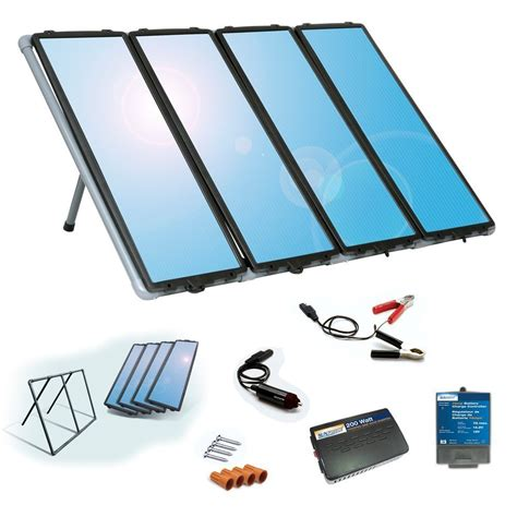 solar powered kit how to make a solar panel at home