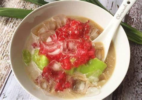 resep bubur sumsum hijau mutiara enak  lembut
