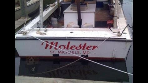 funny police boat names shipwrecked funniest boat names ever