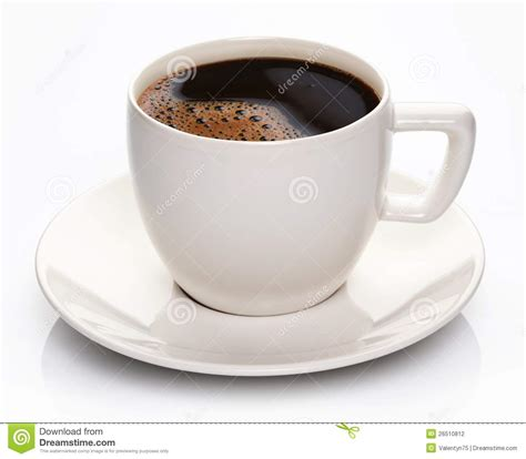 Coffee Cup With Saucer coffee cup and saucer royalty free stock image