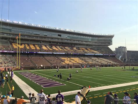 bank sections tcf bank stadium section 117 minnesota football