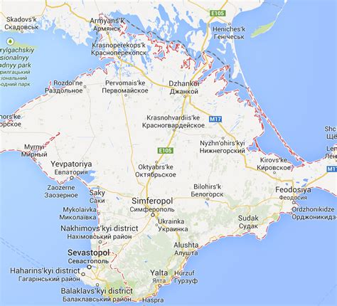 russia google google maps redraws boundaries for crimea including it as part of russia