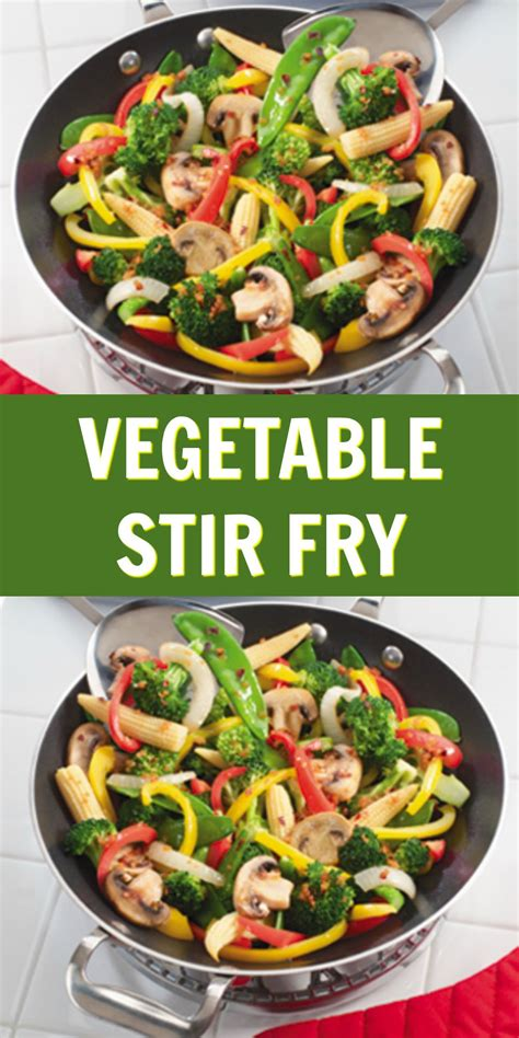 vegetable stir fry recipe easy weeknight dinners