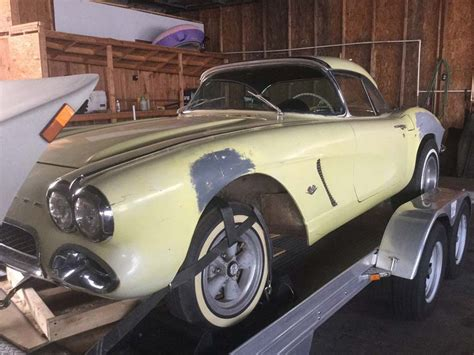 corvettes on ebay barn find 1962 corvette big brake