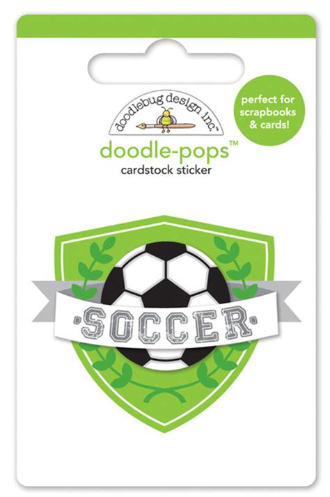 doodlebug goal doodlebug design goal collection doodle pops 3