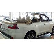 Lexus LX 570 Convertible Shows Up At Dubai Dealership