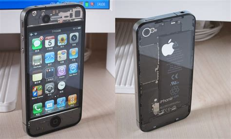 forget the white iphone 4 how about a transparent iphone