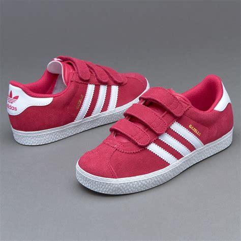 shoes adidas originals infant gazelle 2 cf bold pink white ba9326
