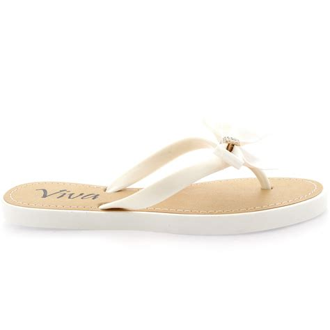 jeweled flip flop sandals summer slippers bamboo sandals festival bow jeweled