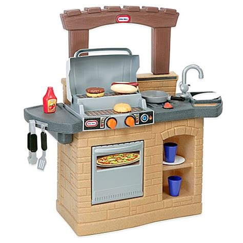 little tikes backyard barbecue little tikes 174 cook n play outdoor bbq bed bath beyond