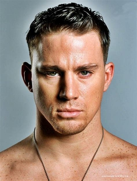 Celebrity Hairstyles: Channing Tatum Hairstyle With Gel