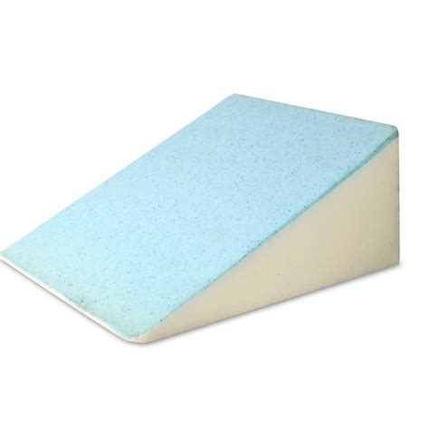 bed wedge pillow reviews oz crazy mall bed wedge support pillow blue