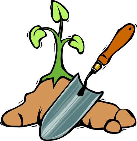 Free Clipart Gardening gardening shovel clip at clker vector clip royalty free domain