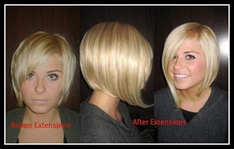 extensions short hair before after 1000 images about hair on pinterest