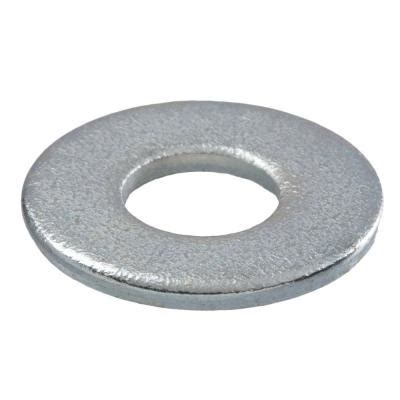3 4 in zinc plated flat washer 45 pieces 08100 the