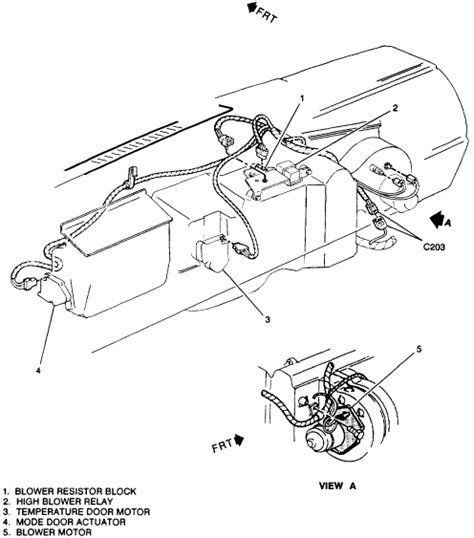 how to test a blower motor resistor pack 1996 chevy blower motor only runs on high was told i needed a blower motor resistor pack