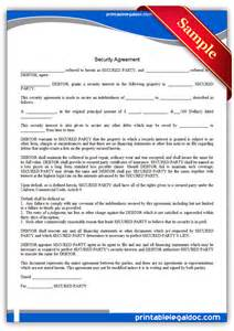 Agreement Letter For Security Service Security Guard Contract Template Studio Design Gallery Best Design