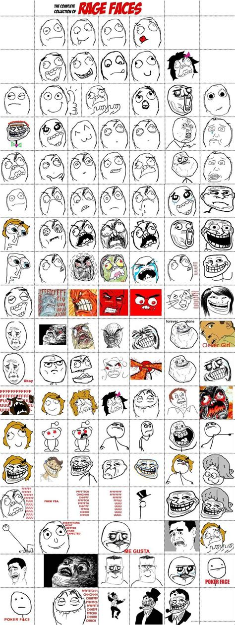 All Meme Faces List And Names - 17 best images about memes on pinterest drawing meme