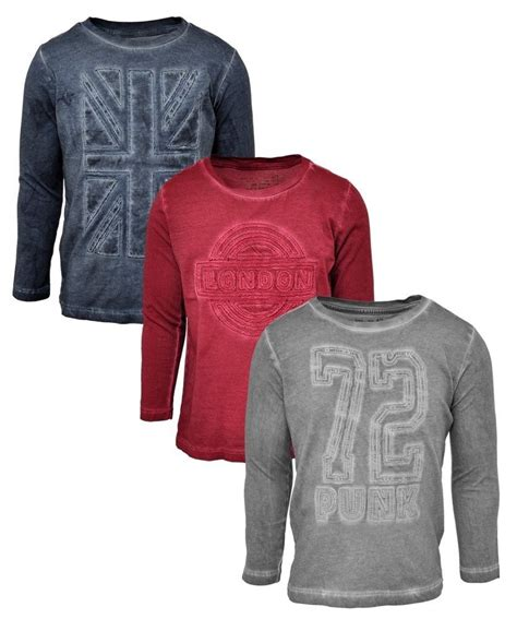 7 Of The Best Varsity Inspired Garments by Boys Sleeved Top T Shirt Clothes Clothing Age 3 4 5 6