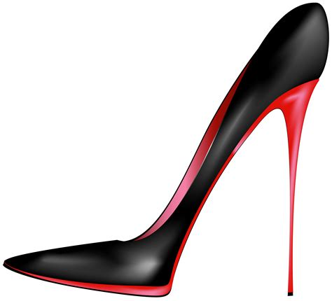transparent high heels black high heel clipart clip of high heel clipart