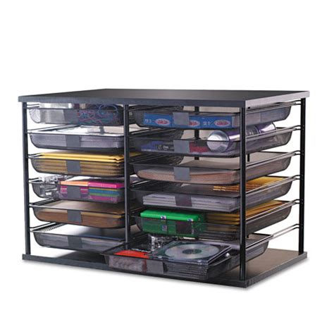 rubbermaid small storage drawers bettymills rubbermaid 174 12 compartment organizer with mesh