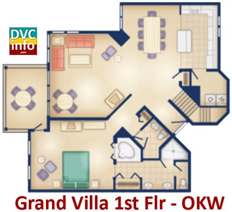 orange lake resort floor plans disney s old key west resort dvcinfo com