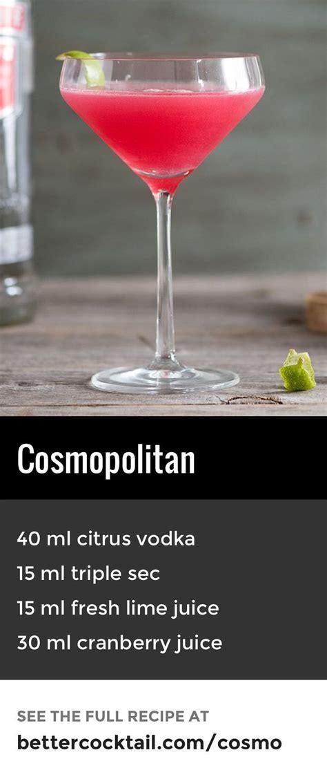 cosmopolitan recipe 100 cosmopolitan cocktail recipes on pinterest