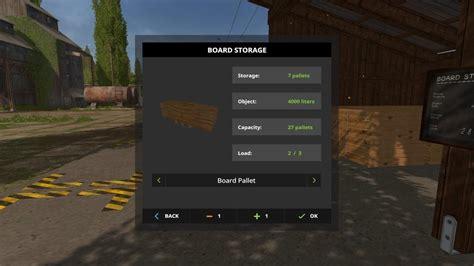 room and board ls board storage v1 0 0 0 for fs 17 farming simulator 2017